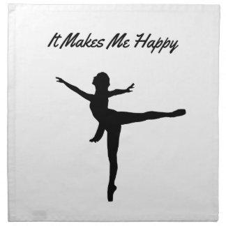 It Makes Me Happy Napkin