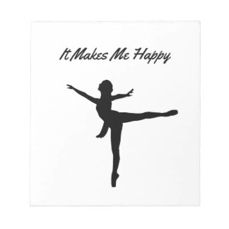 It Makes Me Happy Notepad