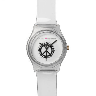 It Makes Me Happy-Peace Watches