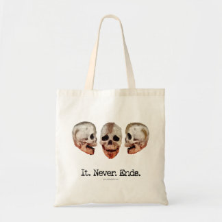 It Never Ends Budget Tote Bag