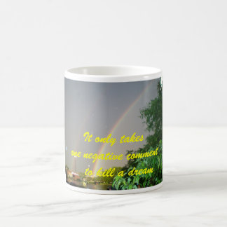"""IT ONLY TAKES ONE NEGATIVE COMMENT MUG"" COFFEE MUG"