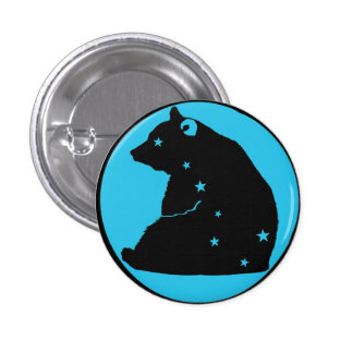 it plates blue Great Bear 3 Cm Round Badge