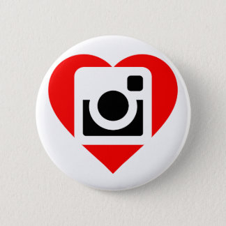 It plates Instagram Lover 6 Cm Round Badge