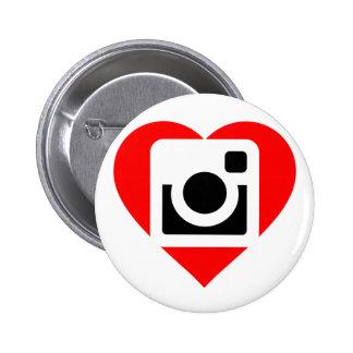 It plates Instagram Lover 6 Cm Round Badge