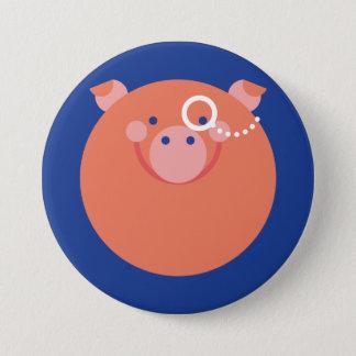 It plates Minimal Pig 7.5 Cm Round Badge