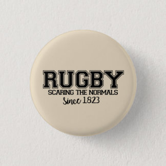 It plates Quote Rugby 3 Cm Round Badge