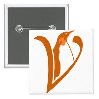 It plates Square of Alive Software Libre 15 Cm Square Badge