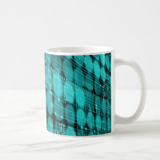 IT programmer high tech computer circuit board Coffee Mug