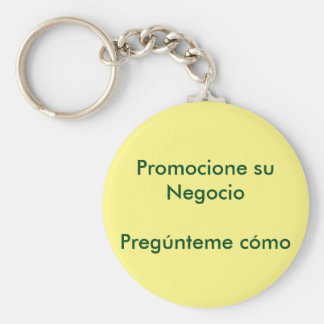 It promotes its business key ring