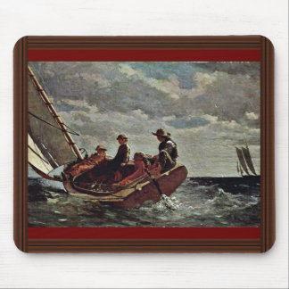 It Refreshes By Homer Winslow (Best Quality) Mouse Pad
