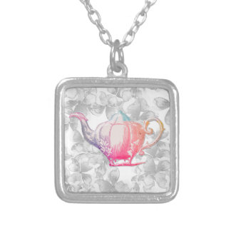 It requests a desire silver plated necklace