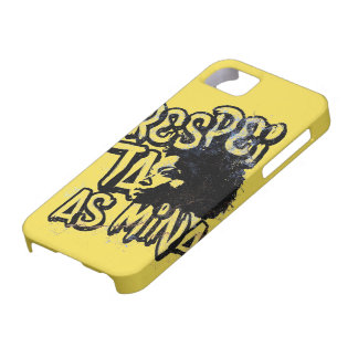 It respects the Mine iPhone 5 Cover