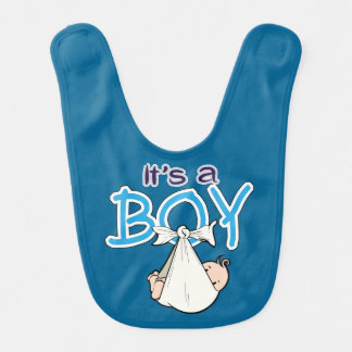 It, s. a. Boy! Baby Bibs