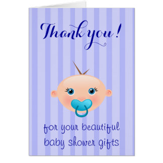 It´s a Boy - Baby Shower Thank You Card