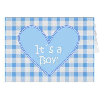 It´s a Boy Card