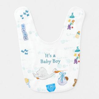 It's a Boy – Personalized Baby Shower Bib