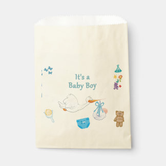 It's a Boy – Personalized Baby Shower Favour Bags