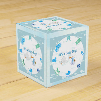 It's a Boy – Personalized Baby Shower Favour Box