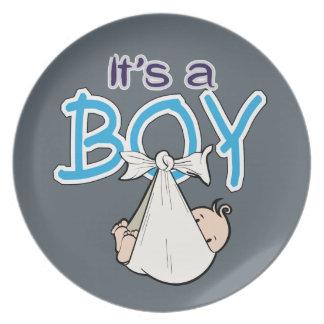 It, s. a. Boy! Plate