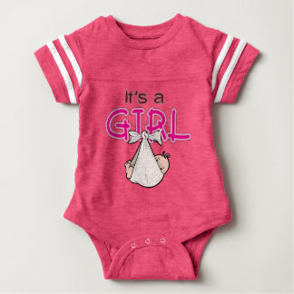 It s. a. Girl Baby Bodysuit