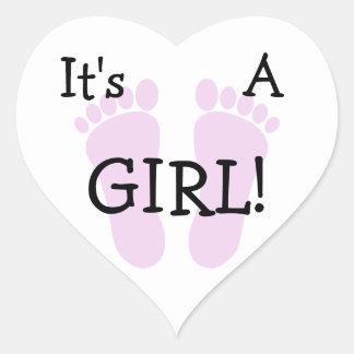 It s A Girl Sticker