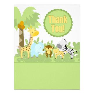 It s A Jungle Thank You Custom Invitations