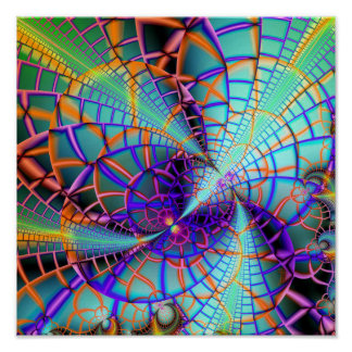 "It's a Temporal Mess (12"" x 12"") Art Print Poster"