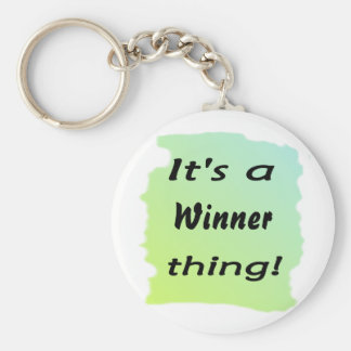It s a winner thing keychains