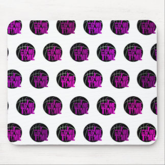 It s Game Time - Pink Mousepads