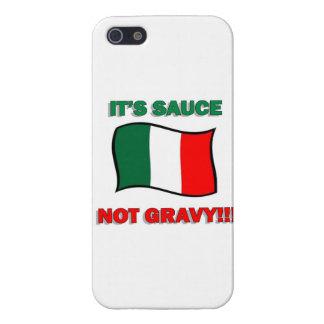 It s Gravy not sauce funny Italian Italy pizza tom iPhone 5 Case
