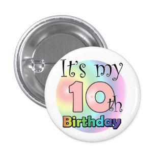 It s my 10th Birthday wink Button