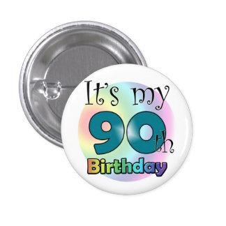 It s my 90th Birthday Blue Pins