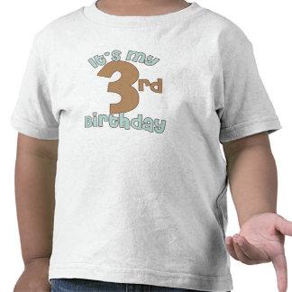It s My Third Birthday Shirts