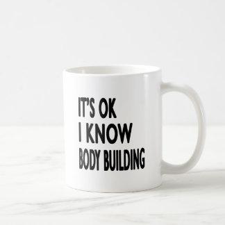 It s OK I Know Body Building Dance Coffee Mug