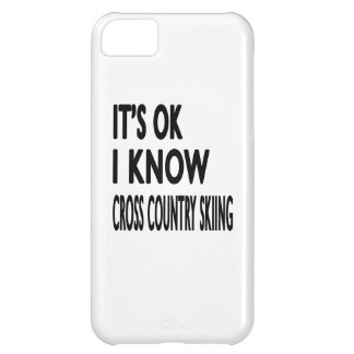 It s OK I Know Cross Country Skiing Dance iPhone 5C Cases