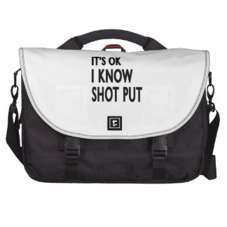It s OK I Know Shooting Bags For Laptop