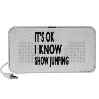 It s OK I Know Show Jumping PC Speakers