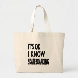 It s OK I Know Skateboarding Bag