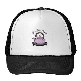 It s Tea Time Trucker Hat