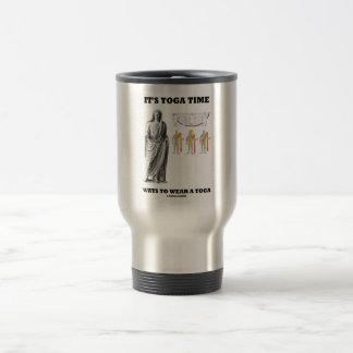 It s Toga Time Ways To Wear A Toga Instructions Coffee Mug