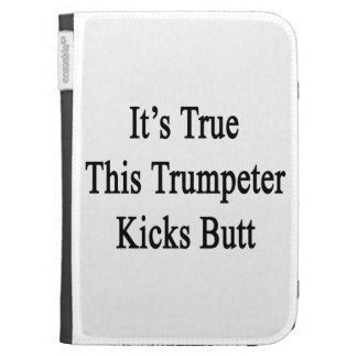 It s True This Trumpeter Kicks Butt Kindle 3G Cases