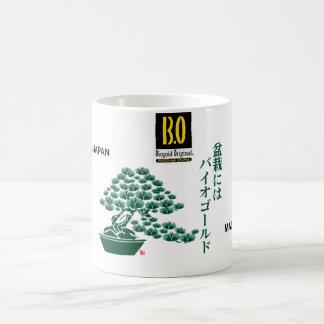 IT SAW GOLD BONSAI JAPAN COFFEE MUG