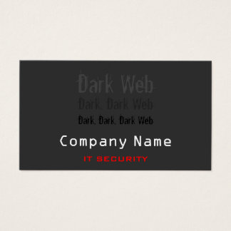 IT Security Business Cards