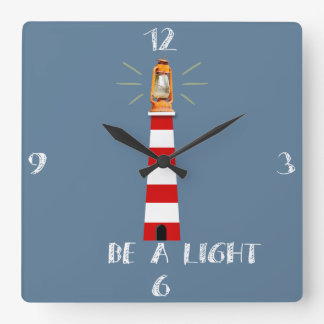 It sees light square wall clock