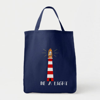 It sees light tote bag