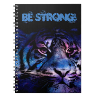 It sees Strong. Spiral Notebook