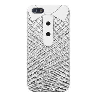 iT-Shirt black thin stips Case For iPhone 5/5S