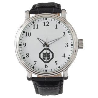 It shrinks in corner cutting angle, three watch