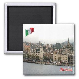 IT - Sicily - Messina - Cityscape Magnet