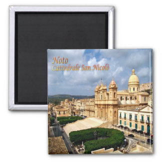 IT - Sicily - Noto - Saint Nicholas Cathedral Magnet
